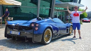 Download Gumball 3000 Visits the PAGANI Factory! Video