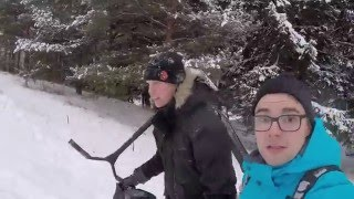 Download Eretic Snow Scooter testailua Video