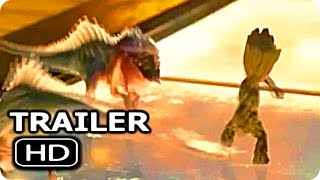 Download GUARDIANS OF THE GALAXY 2 ″Baby Groot Vs Baby Dinosaur″ Trailer (2017) Chris Pratt Action Movie HD Video