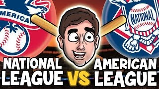 Download AMERICAN LEAGUE vs. NATIONAL LEAGUE   Bad British Commentary Video