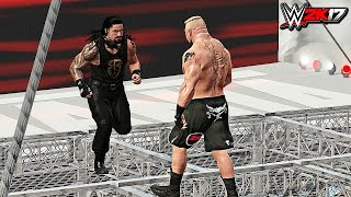 Download WWE 2K17 - Roman Reigns vs Brock Lesnar Epic Hell In A Cell Match! (PS4/XB1) Video