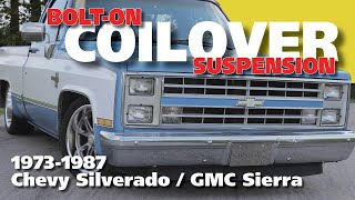 Download 73-87 C10 Coilover Suspension Install - Full Video