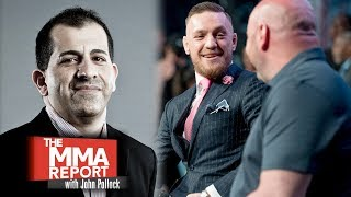 Download Stephen Espinoza: UFC Was Philosophically Opposed to Conor McGregor Boxing vs. Floyd Mayweather Video