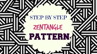 Download How to draw Zen-tangle Patterns - ♥ Step by Step Tutorial ♥ Video