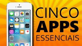 Download 5 aplicativos ESSENCIAIS pra Android ou iPhone! Video