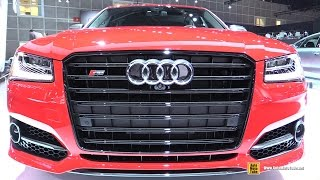 Download 2017 Audi S8 Plus - Exterior and Interior Walkaround - 2016 LA Auto Show Video