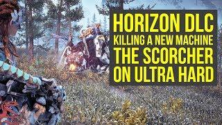 Download Horizon Zero Dawn DLC KILLING A SCORCHER ON ULTRA HARD - NEW MACHINE (Horizon Zero Dawn Frozen Wilds Video