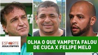 Download VAIDADE? OLHA o que Vampeta falou de Cuca x Felipe Melo! Video