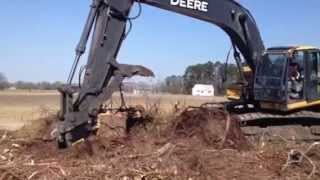 Download Trying Out The New Stumper For The Deere 270D Excavator Video