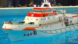 Download XXXL 50 KG!! WEIGHT RC SHIP SAR HERMANN MARWEDE / Fair Erfurt Germany 2017 Video