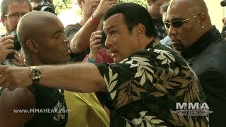 Download UFC 148: Anderson Silva's Boxing Workout Featuring Soccer Star Ronaldo and Steven Seagal vs Feijao Video
