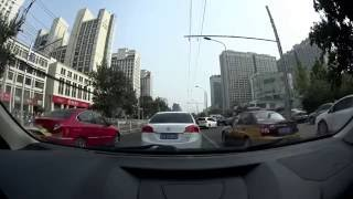 Download Driving my Chinese car in Beijing traffic, form near the US Embassy to April Gourmet Video
