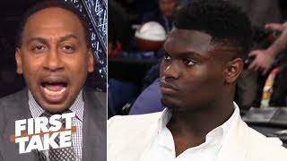 Download Zion isn't a superstar until he proves it with the Pelicans - Stephen A. | First Take Video