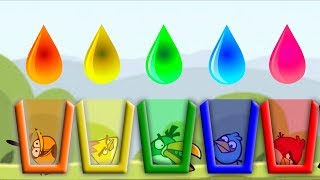 Download Angry Birds Drink Water 2 - ALL BIRDS NEED COLOR WATER!! SHOOTING GAME Video