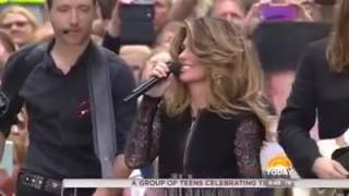 Download Shania Twain - ″Swinging With My Eyes Closed″ Live on Today Video