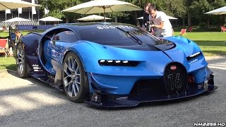 Download Bugatti Vision GT HUGE Exhaust Sounds - LOUD Revs, Driving, Start Up & Loading Into a Truck! Video