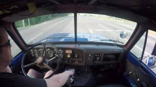 Download Straight piped GMC Brigadier with 6v92 straight pipes Interior video 2 Video