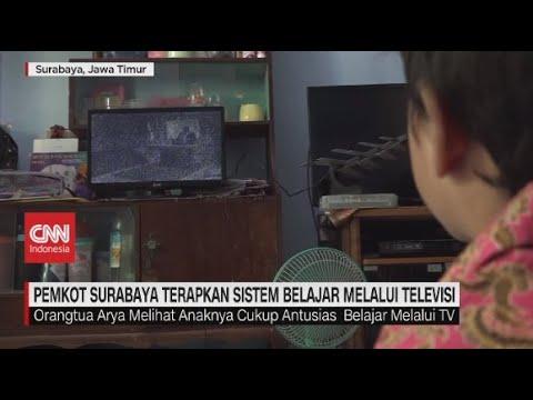Pemkot Surabaya Terapkan Sistem Belajar melalui Televisi