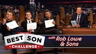 Download Best Son Challenge with Rob Lowe and His Sons Video