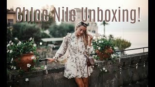 Download CHLOE NILE UNBOXING // TIPS FOR BUYING A DESIGNER HANDBAG // NET-A-PORTER HAUL // FASHION MUMBLR Video