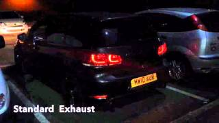 Download 2009-2012 Golf GTI mk6 DSG exhaust sound + resonator delete before and after Video