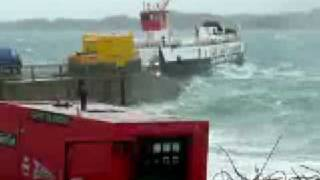 Download Iona ferry in a gale Video