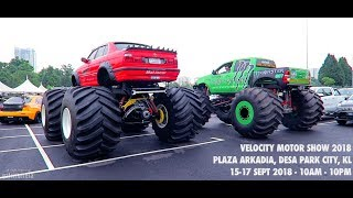 Download Monster Truck BIGFOOT di KUALA LUMPUR Video
