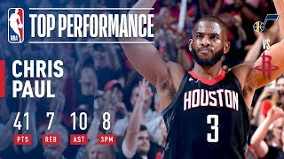 Download Chris Paul Scores Playoff CAREER HIGH 41 Points Video