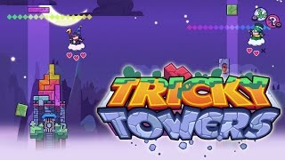 Download Tricky Towers - Multi-player Fun With Sqaishey Video