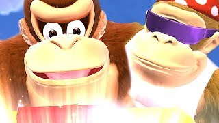 Download Funky Kong Country Tropical Freeze All Cutscenes Movie [Ultimate Story Mode] 2018 Video