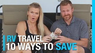 Download 10 WAYS TO SAVE MONEY RVING IN 10 MINUTES | RV LIVING COST Video