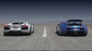 Download Bugatti Veyron vs Lamborghini Aventador vs Lexus LFA vs McLaren MP4-12C - Head 2 Head Episode 8 Video