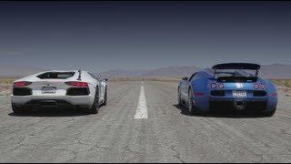 Download Bugatti Veyron vs Lamborghini Aventador vs Lexus LFA vs McLaren MP4-12C - Head 2 Head Episode 8 Video