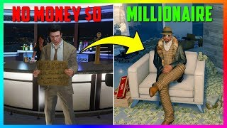 Download Broke To Millionaire In 6 Simple Steps! - Money Making Guide For NEW/Beginner Players In GTA Online! Video