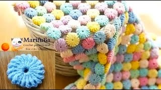 Download How to crochet circle afghan blanket free easy pattern tutorial for begginer Video