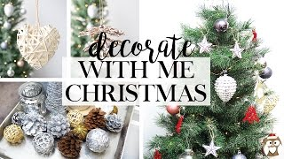 Download Decorate With Me For Christmas - Christmas Decor Haul - Woodland Theme Video