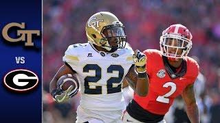 Download Georgia Tech vs. Georgia Football Highlights (2016) Video