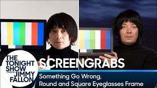 Download Screengrabs: Something Go Wrong, Round and Square Eyeglasses Frame Video