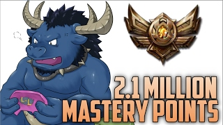 Download Bronze Alistar 2,100,000 MASTERY POINTS- Spectate 2nd Highest Mastery Points on Alistar Video
