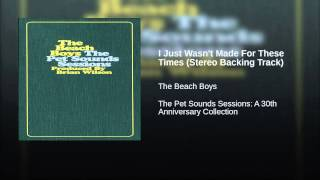 Download I Just Wasn't Made For These Times (Stereo Backing Track) Video