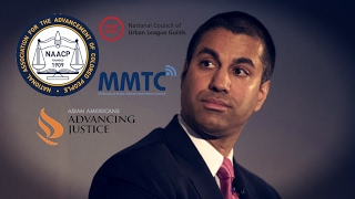 Download Civil Rights Groups Back FCC Chairman's Effort to Kill Net Neutrality Video
