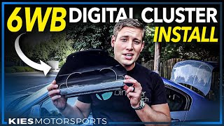Download How to install the all new 6WB BMW OEM Digital Cluster on the F30, F30, F32, F3x, etc. #6wb Video