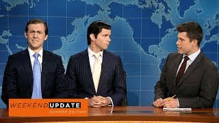 Download Weekend Update: Eric and Donald Trump Jr. on Their Summer So Far - SNL Video