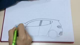 Download HARİKA BİR ARABA ÇİZİMİ(رسومات السيارة) Video