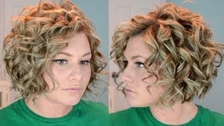 Download Short Curly Hair Tutorial Video
