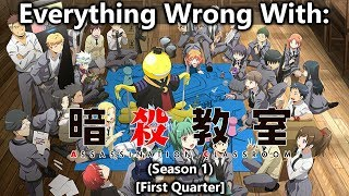 Download Everything wrong with: Assassination Classroom | Season 1 | (First Quarter) Video