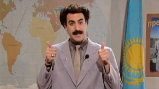 Download Graham Norton Speaks to Borat - Classic Comic Relief Video