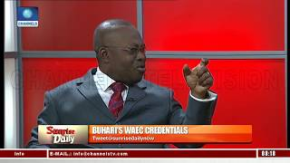 Download WAEC Has Explanations With Regards To Discrepancy In Buhari's Attestation Of Result - Lawyer Pt.1 Video