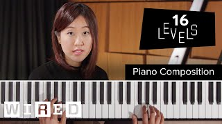Download 16 Levels of Piano Composition: Easy to Complex | WIRED Video