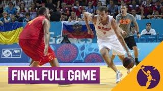 Download Russia v Spain - Men's Final Full Game - 3x3 Basketball - 2015 European Games - Baku Video